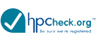 HP Check logo